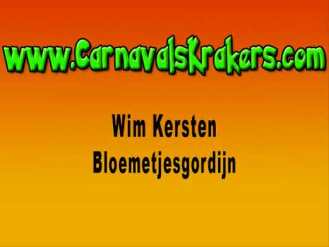 Wim Kersten - Bloemetjesgordijn