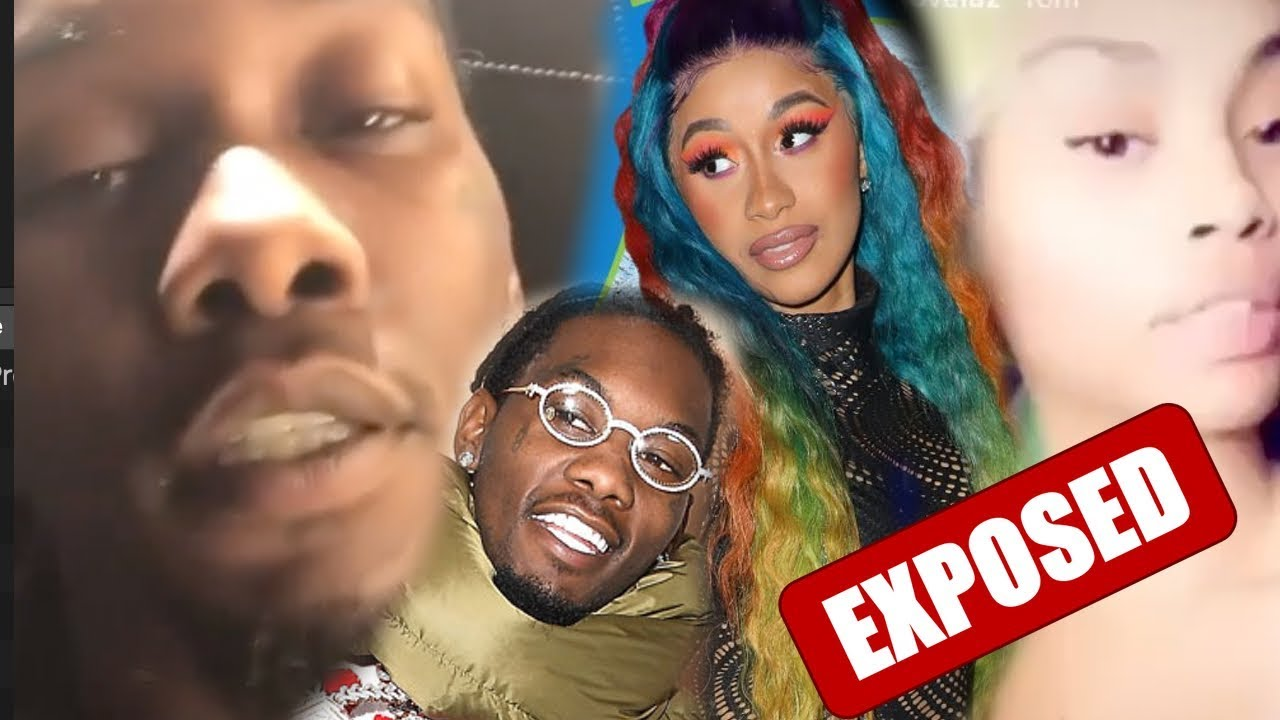 Cardi B defends husband Offset against allegations he hit on ...