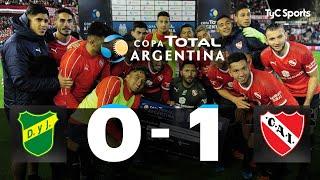 Defensa y Justicia 0 - 1 Independiente | 8vos de Final | Copa Argentina 2019