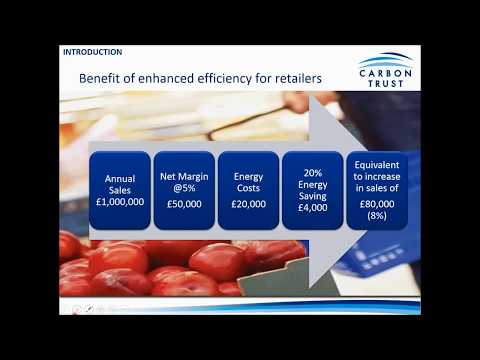Energy Efficiency in the Retail Sector - Green Business Fund Webinar