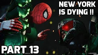 Spiderman PS4 Gameplay PART 13 HINDI | NEW YORK ON FIRE |