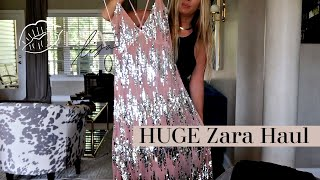 HUGE Zara Haul~ Party Dresses & Basics
