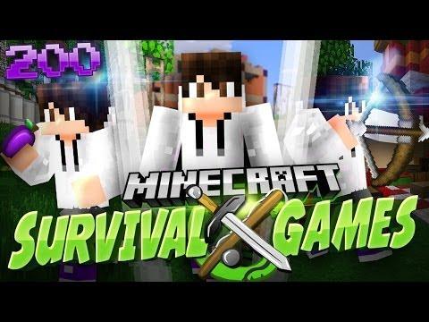 Minecraft Survival Games: Game 200 - MARATHON!