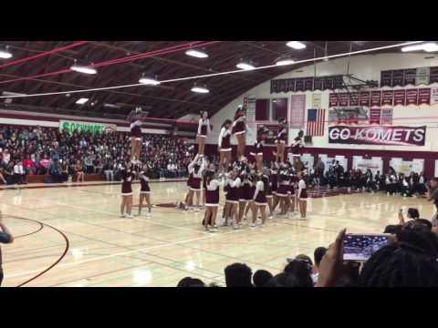 Kearny High School Cheer 2016-2017 (San Diego, CA )