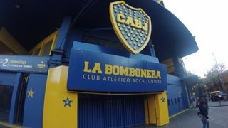 La visita del estadio de la Bombonera - Club Atletico Boca Juniors
