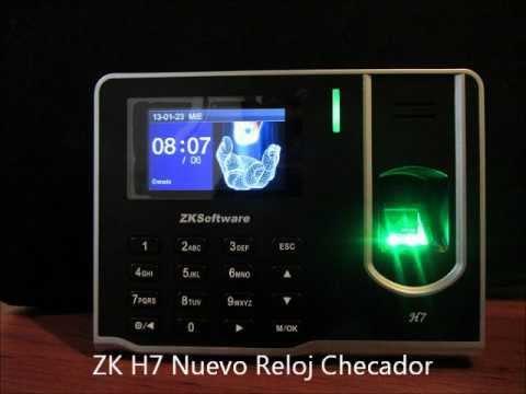 ZKSoftware México Descargas Software