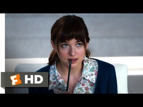 Fifty Shades of Grey (1/10) Movie CLIP - A...