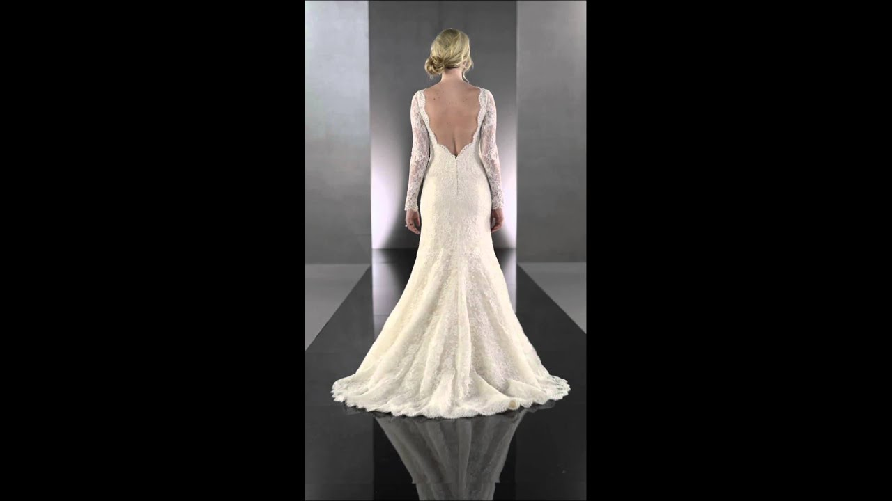 wedding dresses with staps martina liana 651 youtube