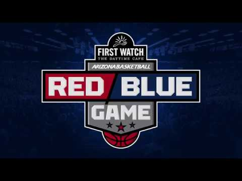 Wildcats Basketball Red Blue Game