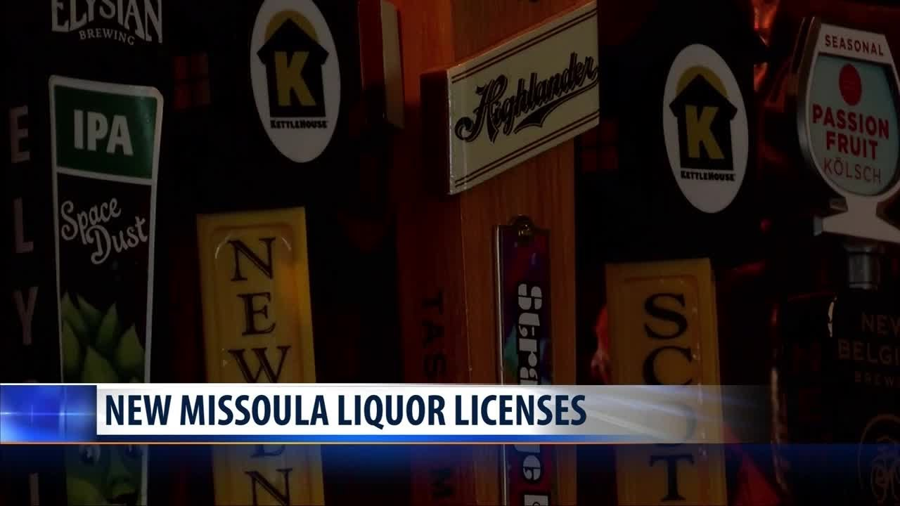 Missoula gets three new liquor licenses due to population growth