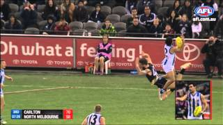 Lindsay Thomas - AFL Mark of the Year - Round 18