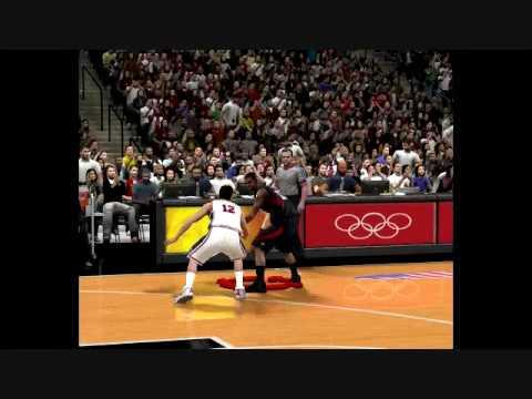 NBA 2k9 USA Dream Team vs. 2008 USA