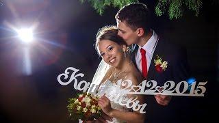 Зимняя история любви. Красивый свадебный клип