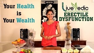 DIY: Natural Home Remedies to Cure Erectile Dysfunction | LIVE VEDIC