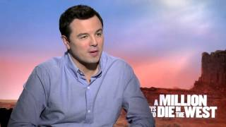 Seth MacFarlane Talks Making out with Charlize Theron