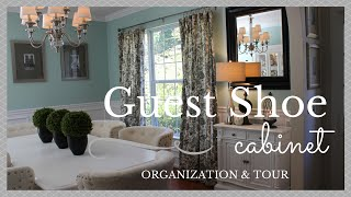 Guest Shoe Cabinet Organization & Tour