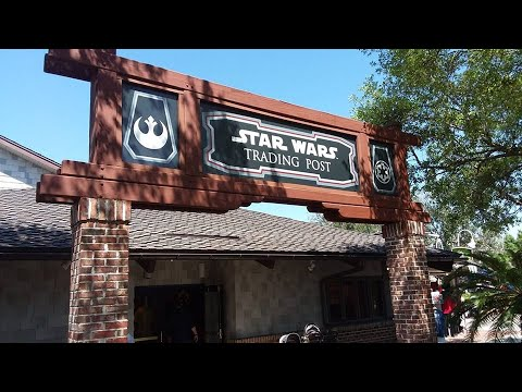 Star Wars Trading Post - Tienda de Mercaderia de Star Wars en Disney Springs!