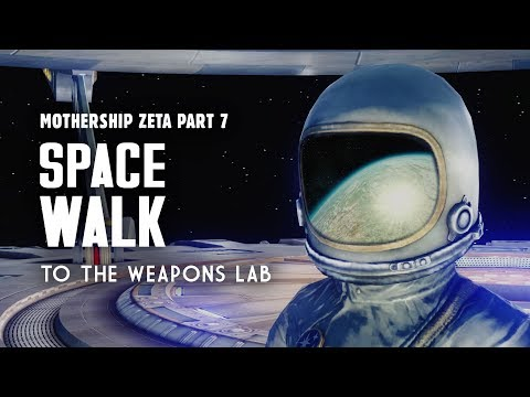 Mothership Zeta Part 7: Space Walk to the Weapons Lab - Fallout 3 Lore