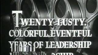 "MGM Metro-Goldwyn-Mayer ""Twenty Years After"" 1944 Promotional Short for MGM's 20th Anniversary"