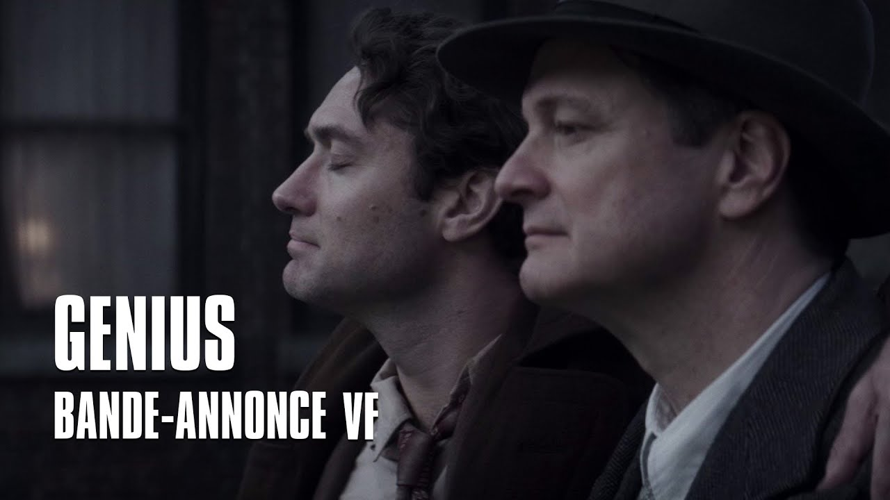 Genius avec Colin Firth et Jude Law - Bande-Annonce VF
