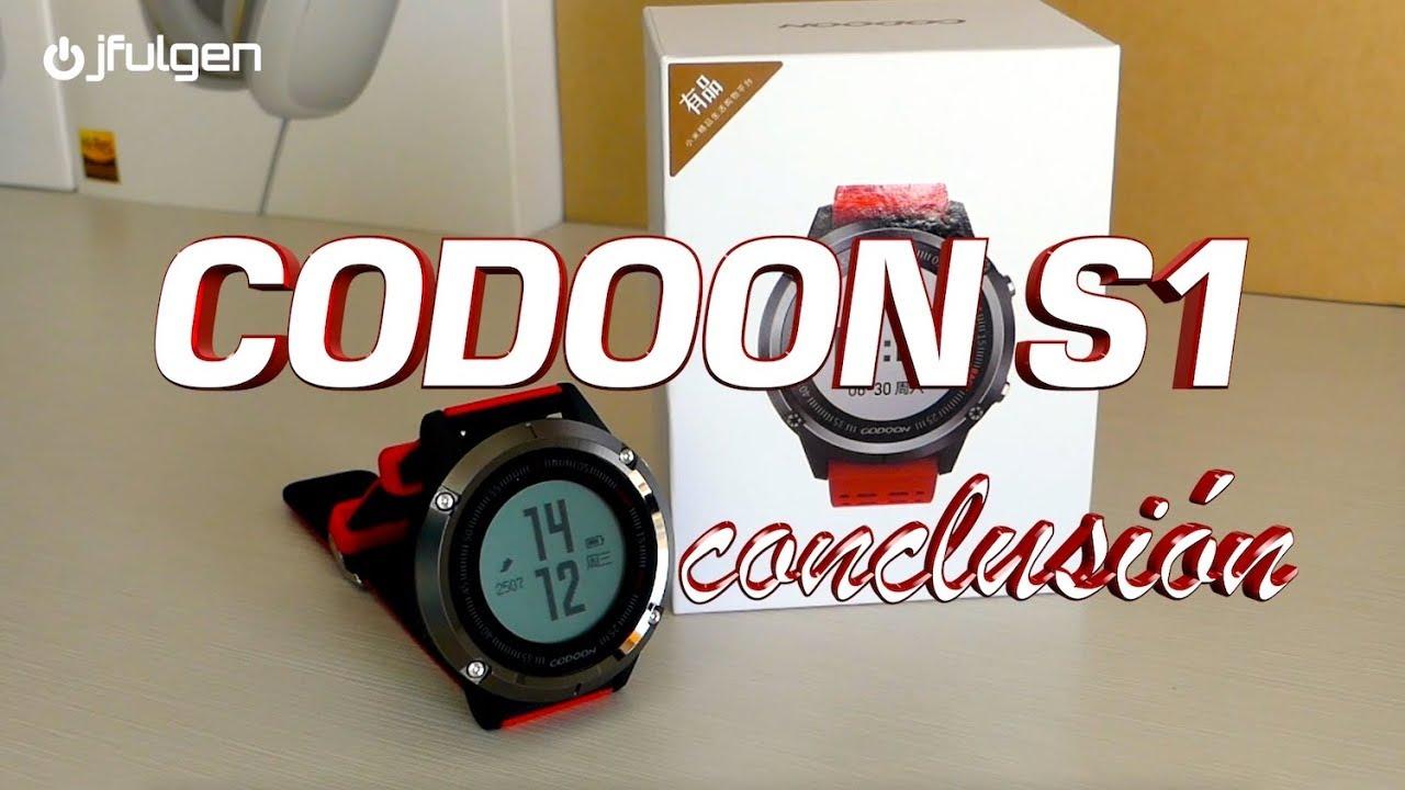 Codoon S1 - Conclusiones