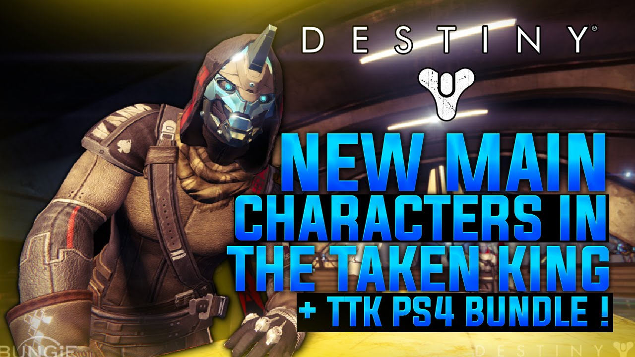 Pre order the taken king ps4 bundle available cayde 6 main character