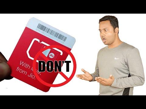 Don't Use or Buy Jio Sim
