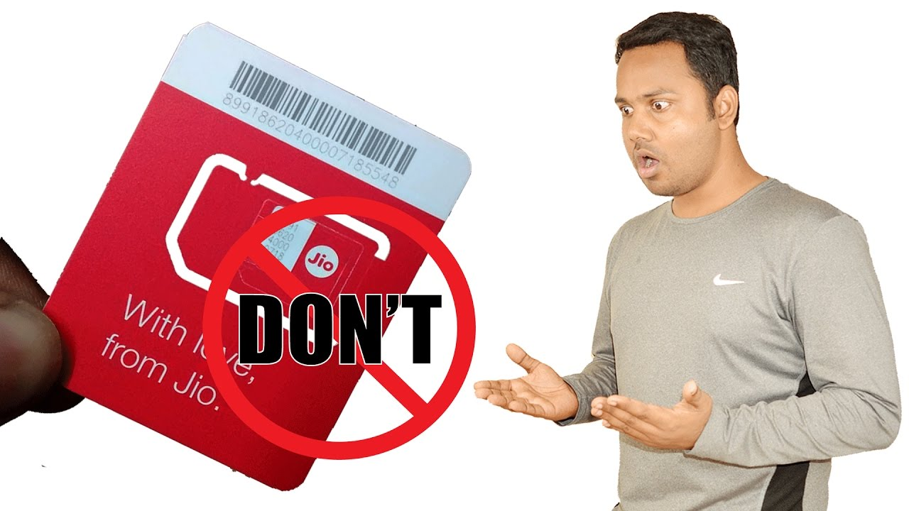 don t use or buy jio sim youtube