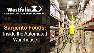 Automated Warehouse Tour at Sargento