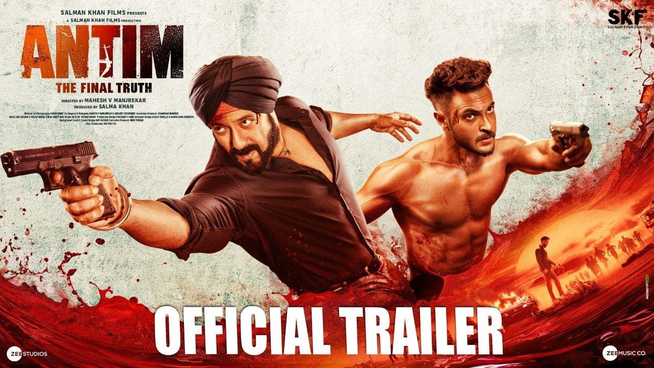 Download ANTIM: The Final Truth - Official Trailer | Salman Khan, Aayush Sharma | Mahesh V Manjrekar | Nov 26