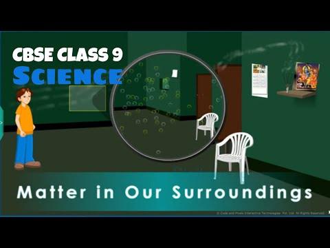 Unit-1 Matter in Our Surroundings   CBSE - Class IX