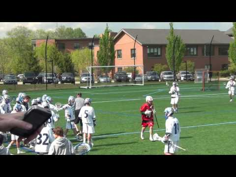 Darien High School Boys Freshman (2019) Lacrosse vs New Canaan