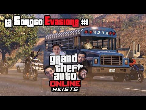 GTA V: RAPINE! | La Sdrogo Evasione W/Johnny,Gabbo & Dread - #1