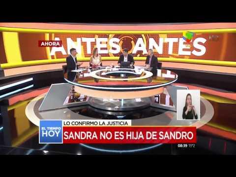 Resultado de ADN: Sandra Borda no es hija de Sandro