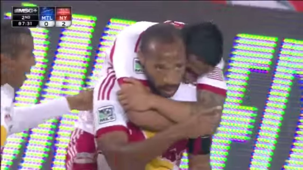 GOAL: Thierry Henry AMAZING Bicycle Kick   New York Red Bulls vs Montreal Impact