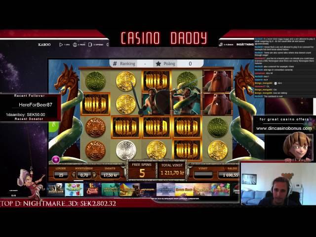 Vikings go wild - Big win - Casino streamer