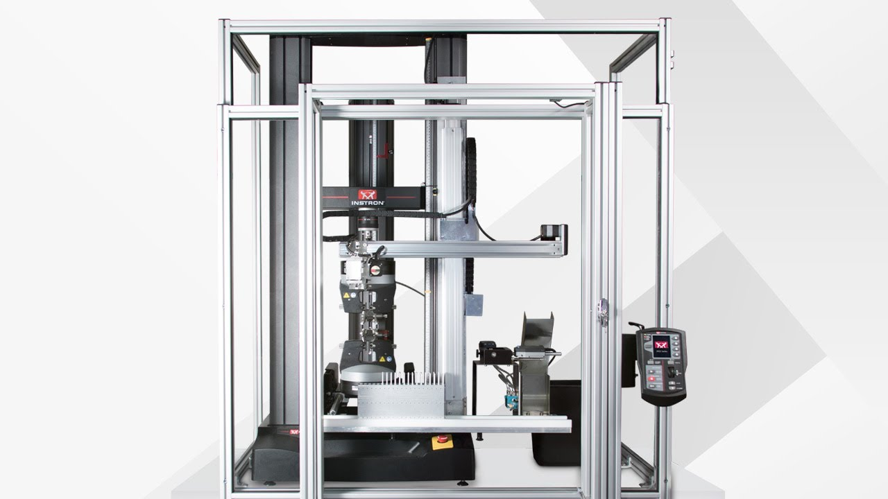 Low-Cost Automation System for Tensile and Flex Testing Plastics