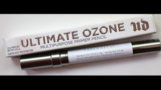 NEW Urban Decay Ultimate Ozone Primer Pencil Review and Demo