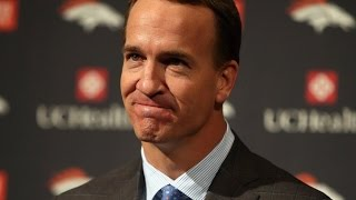 Peyton Manning Emotional Retirement Speech [FULL REMARKS]