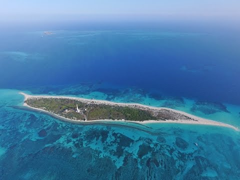 Dry Tortugas Islands Florida Keys DJI Phantom 3 Professional Music Video