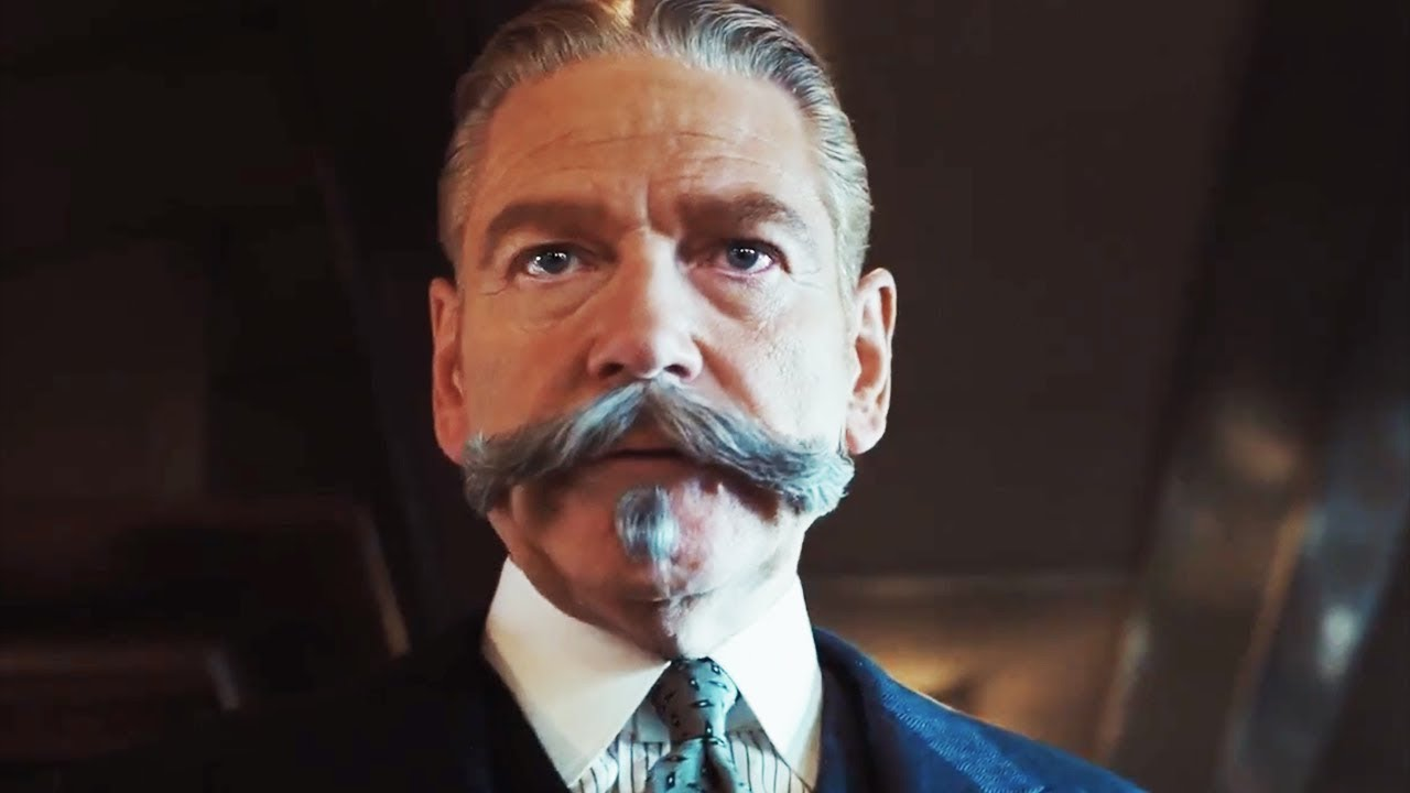 Image result for murder on the orient express 2017 poirot