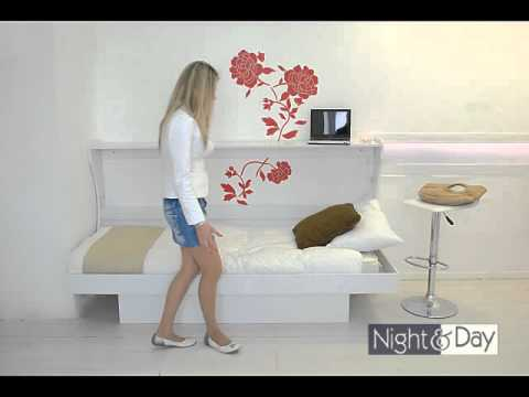 letti a parete singolo consolle bed http://vivilospazio.it/mobili ... - Letti Singoli Richiudibili