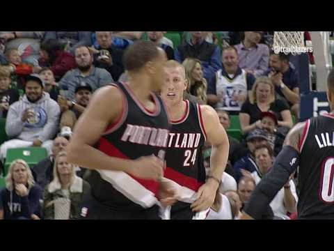 Preseason Highlights: Blazers 88, Jazz 84
