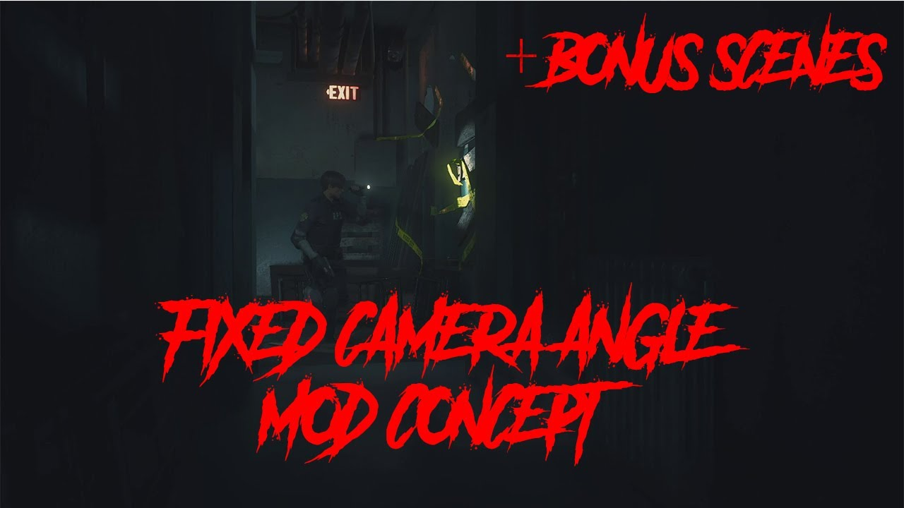 Weird Faces, Classic Camera Angles And Other Mods For Resident Evil 2