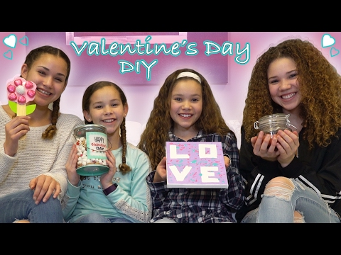 Thumbnail: DIY Valentine's Day! (Haschak Sisters)