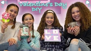 DIY Valentine&#39s Day!  (Haschak Sisters)