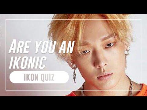 ARE YOU AN IKONIC? [iKON Quiz]