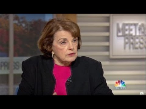 FEINSTEIN FUSION GPS: Sen. Dianne Feinstein comments on why she released the Fusion GPS in formation