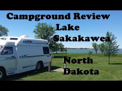 Campground Review ~ Lake Sakakawea North Dakota Tour