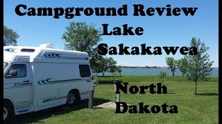 Campground Review ~ Ląke Sakakawea North Dakota Tour